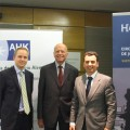 Prof Mirow und K. Lincke Wirtschaftsjunioren Madrid