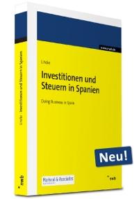 """Neues Buch """"Investitionen und Steuern in Spanien"""""""