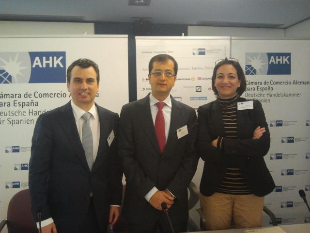 Vortrag in der AHK Madrid zum Forderungsmanagement in Spanien