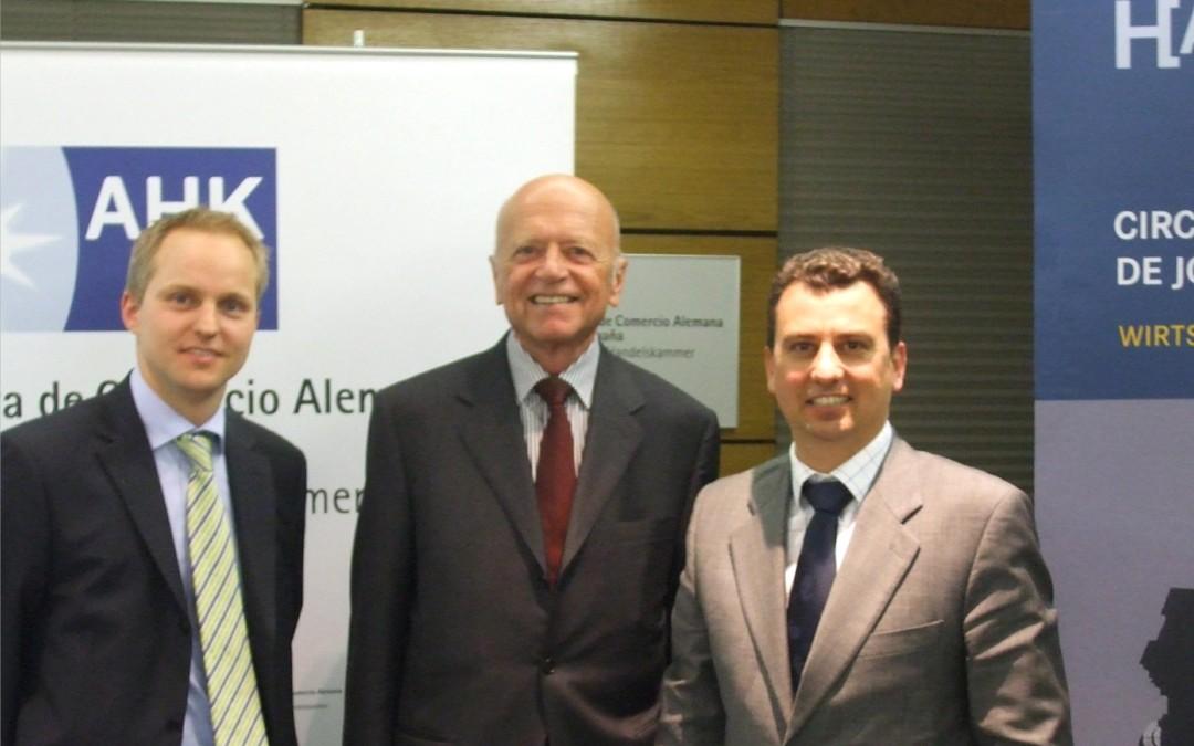 Vortrag Prof. Mirow bei den Wirtschaftsjunioren Madrid