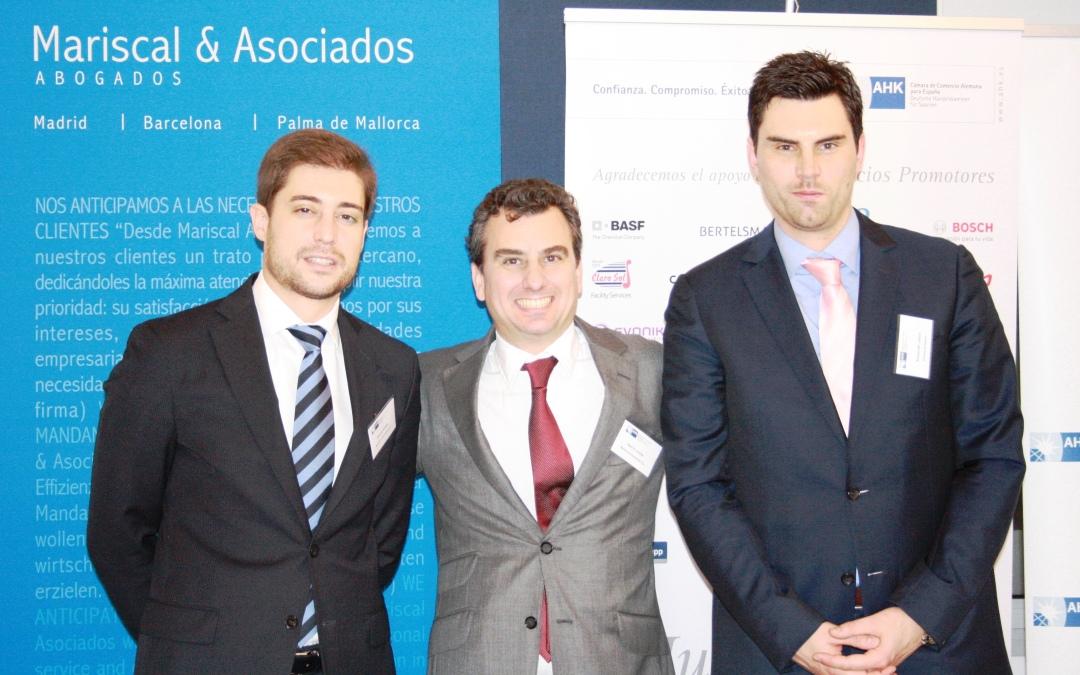 Mariscal & Abogados organisiert erfolgreiche Veranstaltung zur Reform des Konkursrechts in Spanien