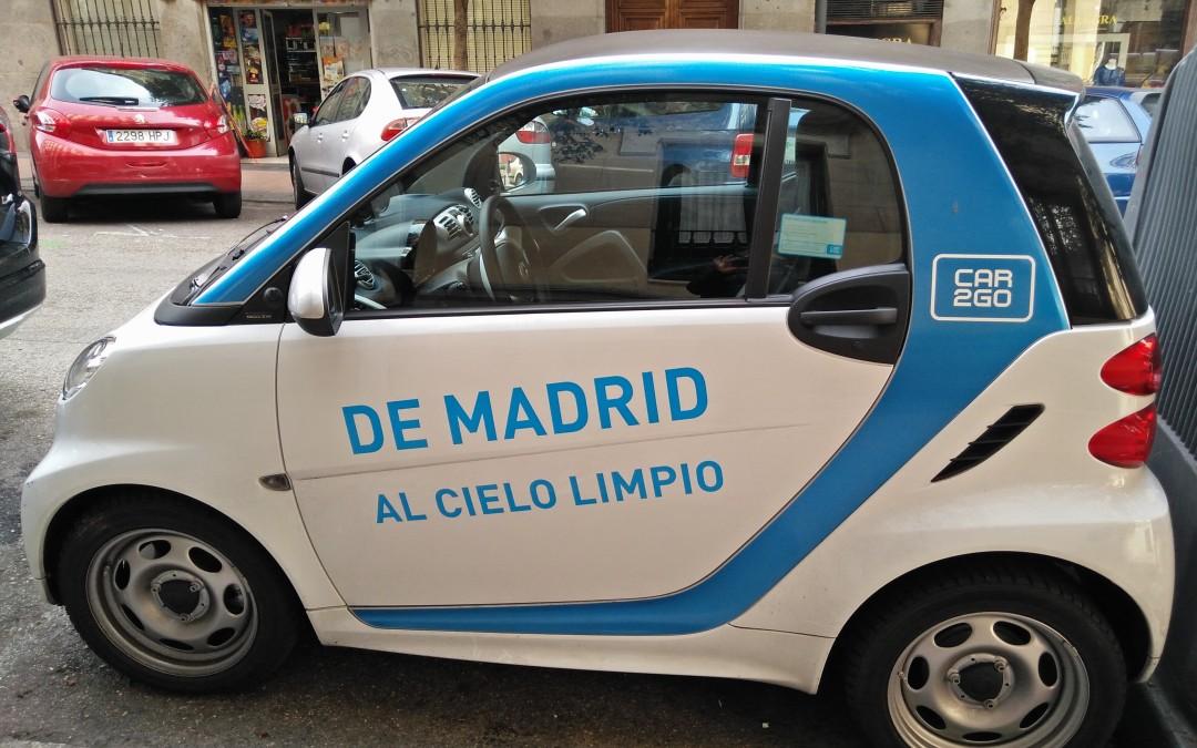 CarSharing: car2go gibt es jetzt auch in Madrid