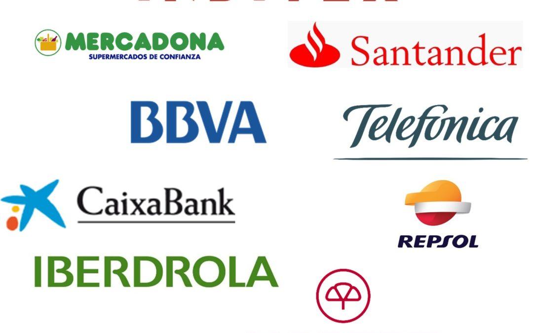 Ranking der spanischen Firmen mit dem besten Ruf