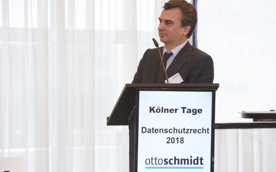 Kölner Tage Datenschutzrecht 2018